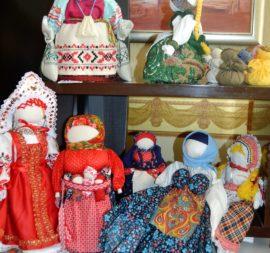 Коллекция фонда МИССИЯ «Тряпичная кукла» в Болгарии