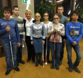 Подопечные фонда из Сергиево-Посадского детского дома слепоглухих посетили концерт Гелы Гуралиа