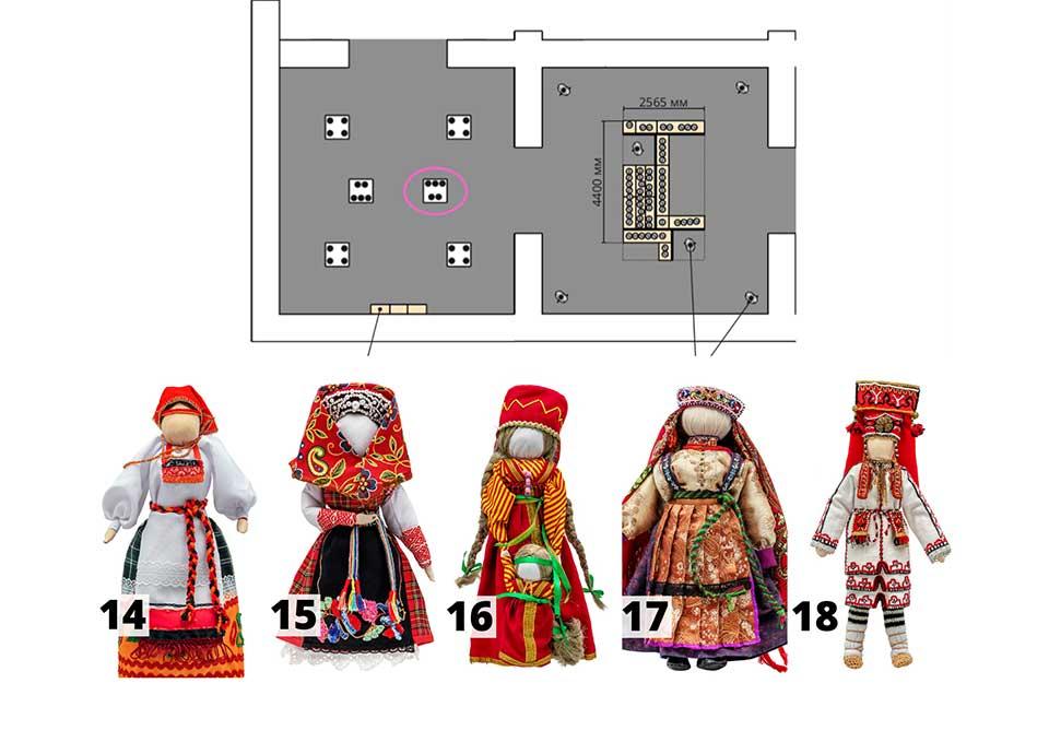 Куклы: группа №4