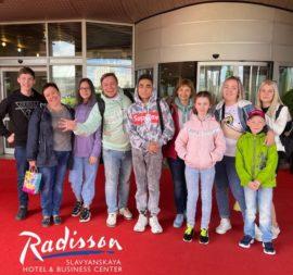 Теплый прием в гостинице Radisson Slavyanskaya